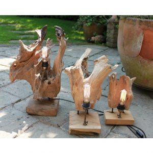 Root Sculpture Lamps